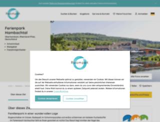 hambachtal.de screenshot