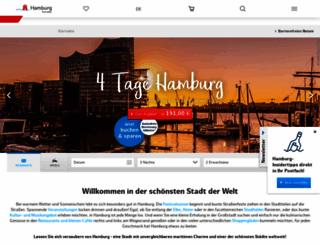 hamburg-tourism.de screenshot