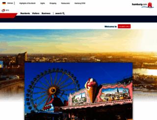 hamburg.com screenshot