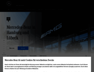 hamburg.mercedes-benz.de screenshot