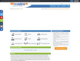 hamburgcity.global-free-classified-ads.com screenshot