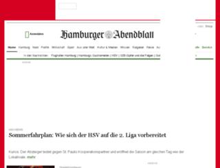 hamburgerabendblatt.de screenshot