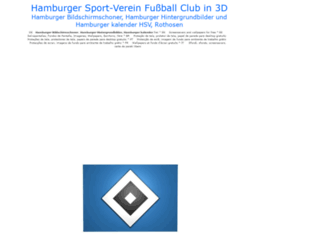 hamburgersv.pages3d.net screenshot