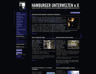 hamburgerunterwelten.de screenshot