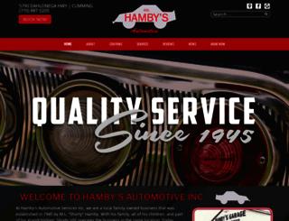hambysinc.com screenshot
