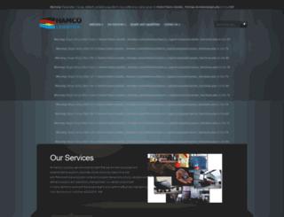hamco-logistics.com screenshot