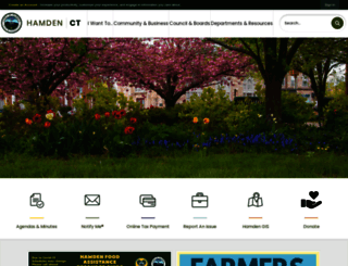 hamden.com screenshot