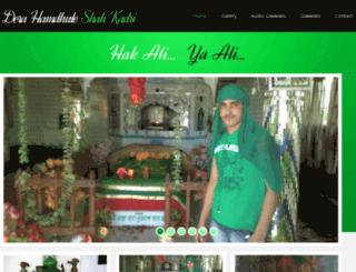 hamdhuleshahkadri.com screenshot