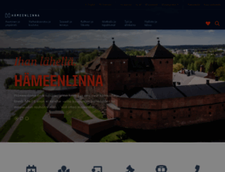 hameenlinna.fi screenshot