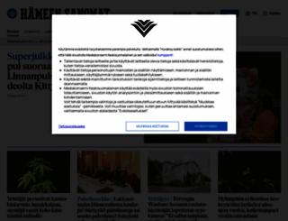 hameensanomat.fi screenshot