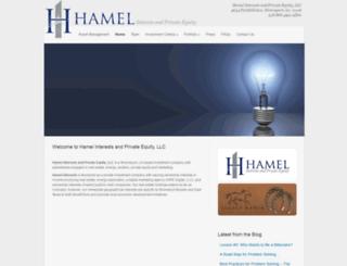 hamelinterests.com screenshot