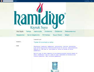 hamidiyesuyu.blogspot.com screenshot