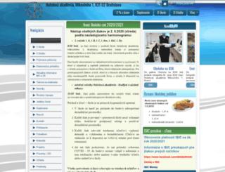 hamikoviniho.edupage.org screenshot