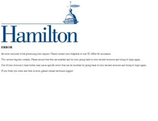 hamilton.webcheckout.net screenshot