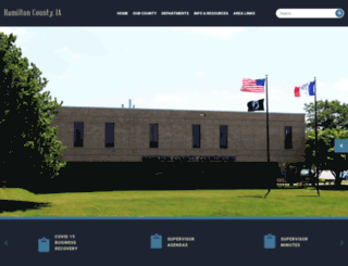 hamiltoncounty.org screenshot