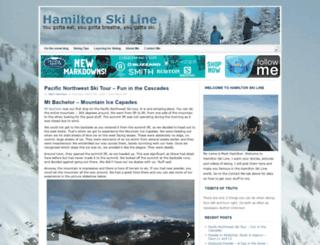 hamiltonskiline.com screenshot