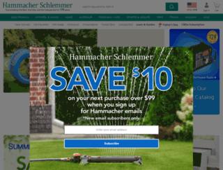 hammacher.com screenshot