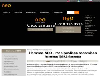 hammasneo.fi screenshot