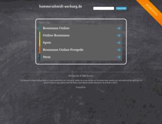 hammerschmidt-werbung.de screenshot