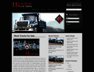 hammertrucks.com screenshot