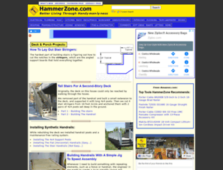 hammerzone.com screenshot