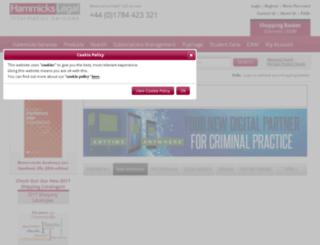 hammickslegal.com screenshot