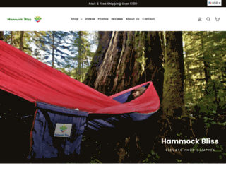 hammockbliss.com screenshot