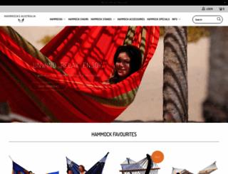 hammocksaustralia.com.au screenshot