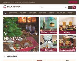 hampers.co.uk screenshot