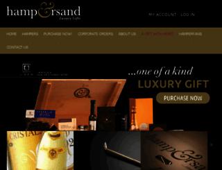 hampersand.com.au screenshot