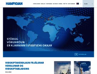 hampidjan.is screenshot