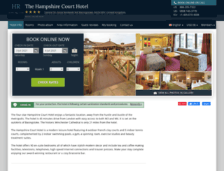 hampshire-court.hotel-rez.com screenshot