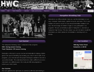 hampshirewrestlingclub.com screenshot