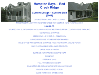 hamptonbays.com screenshot