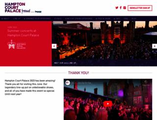 hamptoncourtpalacefestival.com screenshot