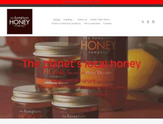 hamptonshoney.com screenshot