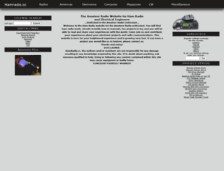 hamradio.cc screenshot