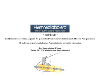 hamradioboard.de screenshot