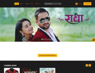 hamromovie.com screenshot