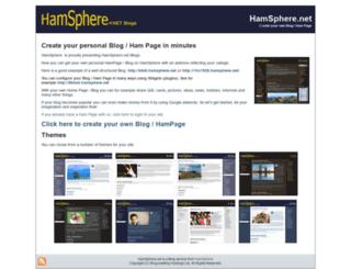 hamsphere.net screenshot