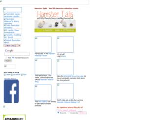 hamsterhideout.com screenshot