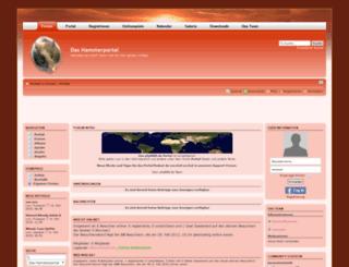 hamsterportal.phpbb8.de screenshot