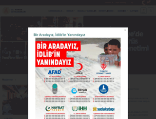 hamur.gov.tr screenshot