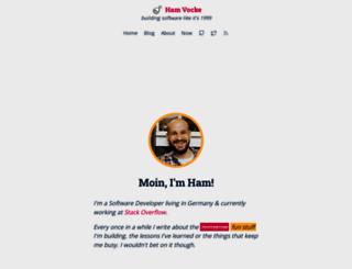 hamvocke.com screenshot