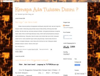 hamzahnurarafah.blogspot.com screenshot
