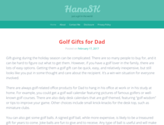 hana-sk.com screenshot