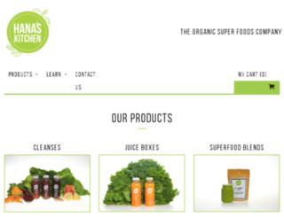 hanas-kitchen.com screenshot