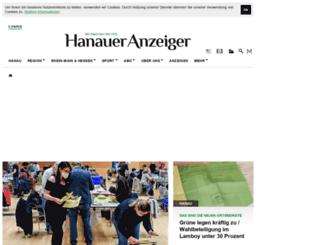 hanauer-anzeiger.de screenshot