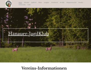 hanauer-jagdklub.de screenshot