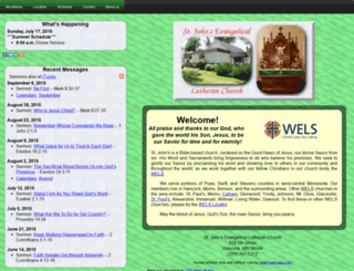 hancocklutheran.org screenshot